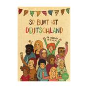 So bunt ist Deutschland Malbuch