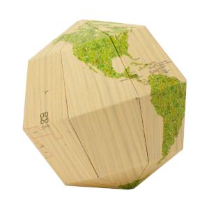 geografia_Globus Material Wood