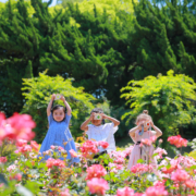kikoandgg_camera kids flower garden