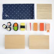 Kiko+ & gg* Sushi-Set aus Holz
