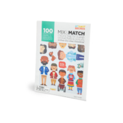 My Family Builders_Mix & Match Aufkleber_100 Stück