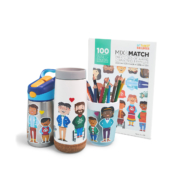 My Family Builders_Mix & Match Sticker_100 Stück