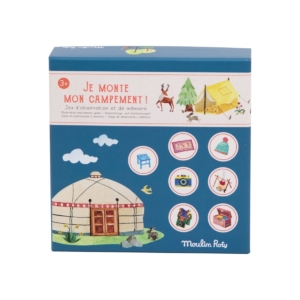 Moulin Roty, Je monte mon Campement